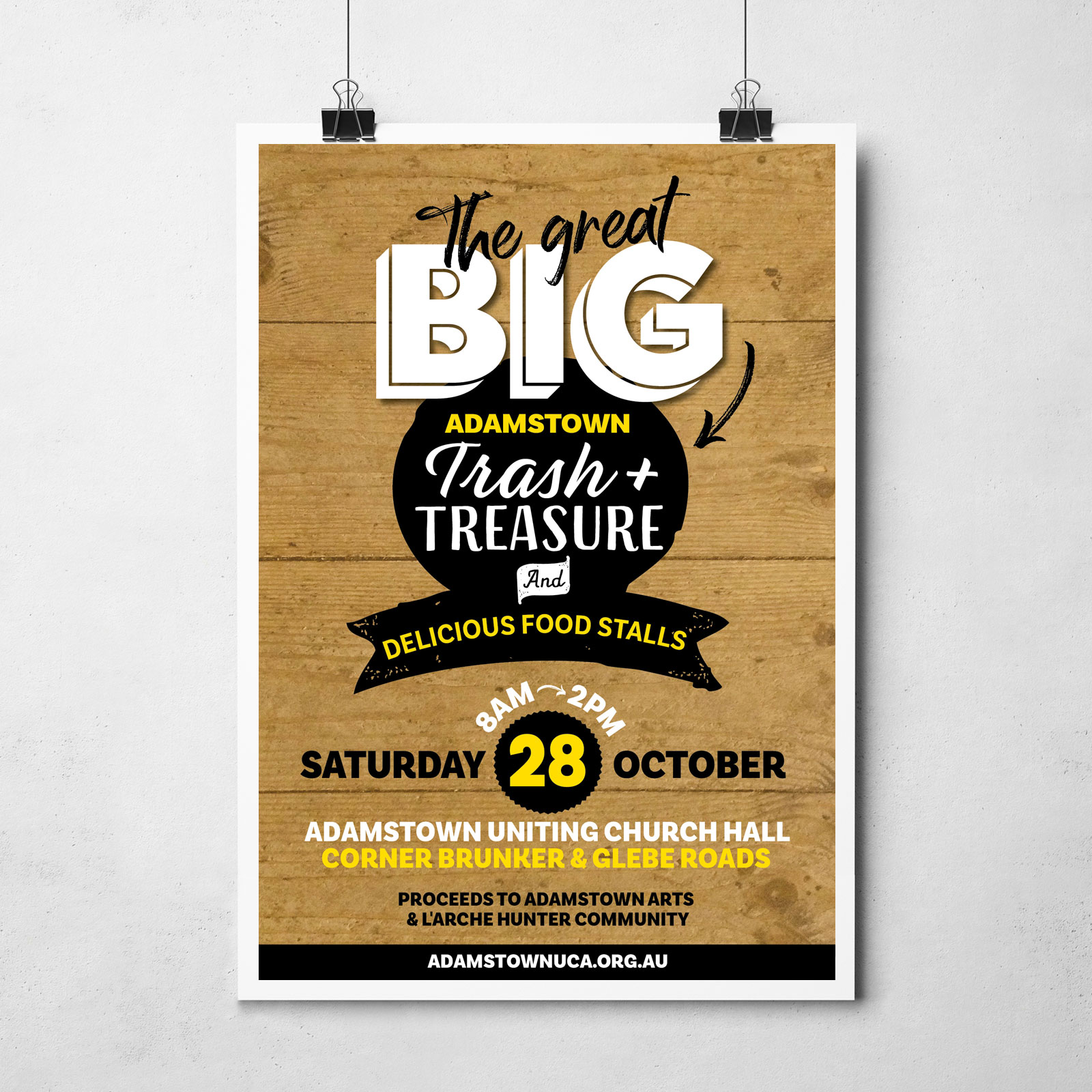 Trash and treasure poster